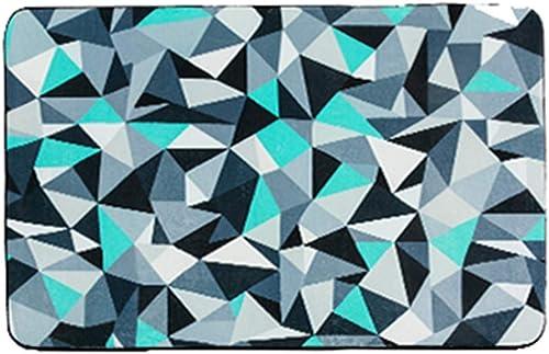 garantizado Alfombra, Estilo Europeo Triángulo geométrico Muchos Colors Simple Sofá Sofá Sofá Moderno Lado de la Cama Oficina Rectángulo (Color   B, Talla   100  150cm)  Mejor precio