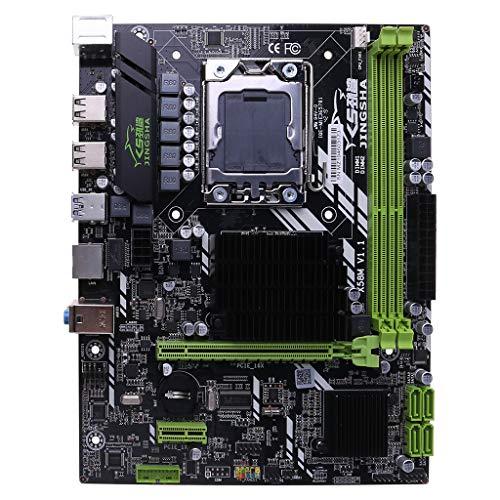 X58 LGA 1366 I7 5675 DDR3 LGA1366 1366PIN - Placa base (soporta RECC 32 GB, SB3.0)