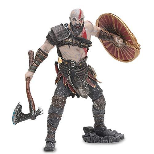 XINWANG God War Modelo 18cm Figura Fantasma De Esparta Kratos Modelo Coleccionable...