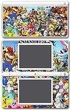 Super Smash Bros Ultimate Melee Brawl Mario Yoshi Mega Man Zelda Sonic Metroid Video Game Vinyl Decal Skin Sticker Cover for Nintendo DS Lite System