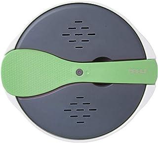 Yatter Olla arrocera para microondas, vaporera de Utensilios de Cocina Multifuncional de 2 litros con Tapa y Cuchara del Filtro, el Material de Seguridad PP se Puede aplicar a la Cocina de su hogar