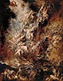 Number Painting for Adults Paul Rubens The Fall of The Damned for Beginner On Canvas Painting