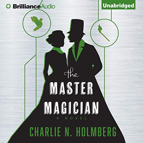 The Master Magician audiobook cover art