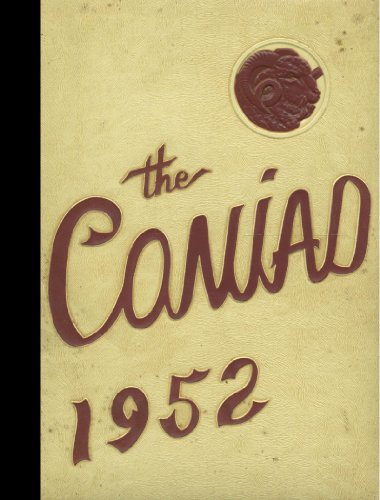 (Reprint) 1952 Yearbook: Cony High School, Augusta, Maine