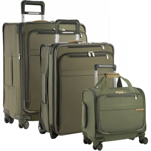 Lowest Price! Briggs & Riley Baseline Global Getaways (One size, Olive)