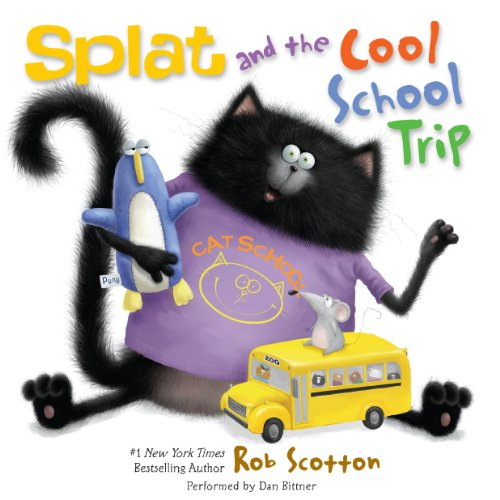 Splat and the Cool School Trip audiobook cover art