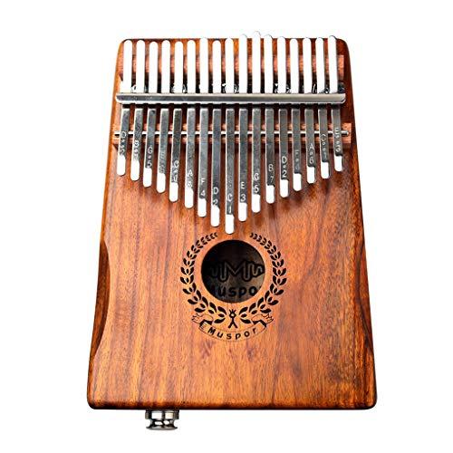 Floridivy 17 Keys Kalimba Piano Electric Keyboard Houten Piano Tuner Hammer draagtas Audio Cable Song Book Kit