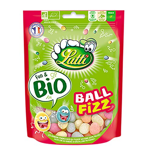 Lutti Ball Fizz Bio Doypack Bonbons 100 g 114180