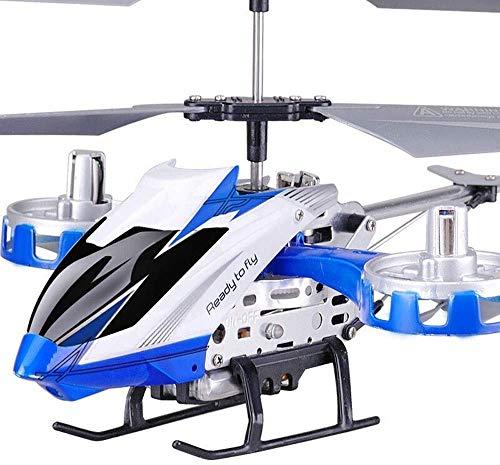 Kinderspeelgoed RC Helicopter Mini Flying messen te vervangen Inclusief Vliegtuig Toy 4,5 CH Crash Resistance Ingebouwde Gyro Remote Control Drone Hobby Stable gemakkelijk te leren een goede werking B
