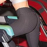 Acutty Jambières de Compression pour Femmes, Pantalons élastiques à Bouts fuselés et Anti-Cellulite Yoga Pantalons Femmes Taille Haute Ruché Butt Lift Textured Scrunch Leggings