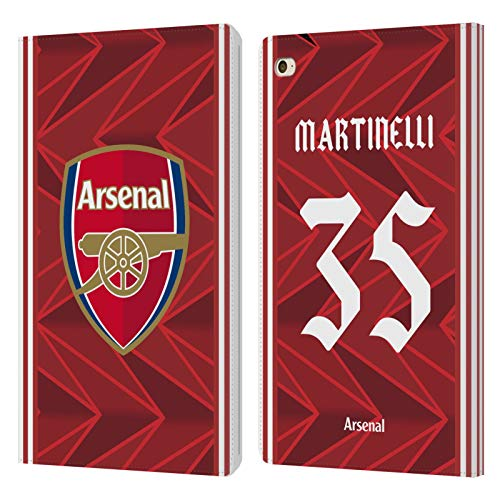 Official Arsenal FC Gabriel Martinelli 2020/21 Players Home Kit Group 2 Leather Book Wallet Case Cover Compatible For Apple iPad mini 4