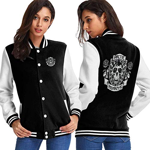 Arctic Monkeys Varsity Baseball Hoodie Jacket Outerwear Coat S