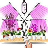 Lampada per Piante, EWEIMA LED Lampada da Coltivazione Spettro Completo con 80LEDs, Lampade LED per Piante 4 Teste con 360 Gradi Flessibile Collo di Cigno, Con Timer 4/8/12H Lampade LED Coltivazione