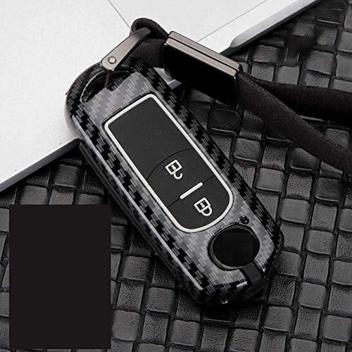Zinc Alloy Car Remote Key Case Cover,for Mazda 2 3 6 Demio Cx-5 Cx5 Cx 5 Cx-3 Cx3 Cx-9 Mx5 Atenza Axela 2017 2018 2019 Black 1
