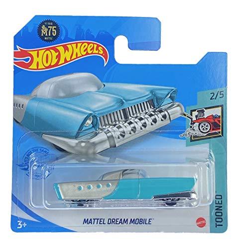 Hot Wheels Mattel Dream Mobile (Blaugrün) 2/5 Tooned 2021 - 14/250 (kurze Karte) GRX98