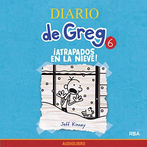 Diseño de la portada del título Diario de Greg 6. ¡Atrapados en la nieve!