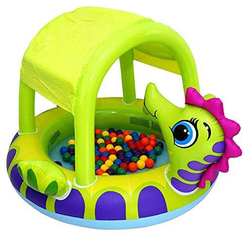 QXM Piscina para bebés Cubierta de hipocampo Piscina para