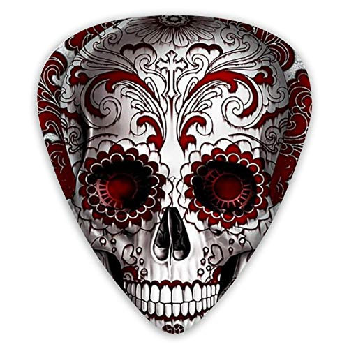 Sugar Skull, púas divertidas para guitarra, paquete de 12...
