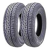 2 Premium WINDA Radial Trailer Tires ST 225/75R15 10PR Load Range E w/featured Scuff Gurard