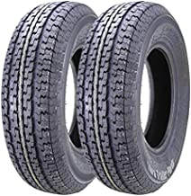 2 New Premium WINDA Trailer Tires ST 205 75R15 / 8PR Load Range D Steel Belted w/Scuff Guard