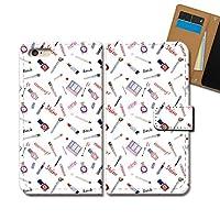 Galaxy A51 5G SCG07 ケース 手帳型 コスメ 手帳ケース スマホケース カバー メイク 香水 化粧品 リップ ネイル E0340010114005