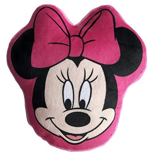 LYO Disney - Cojín de Cabeza de Minnie (20 cm), Color Negro