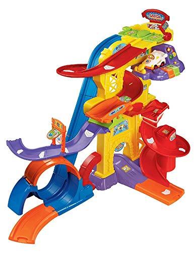 VTech - Superpista Looping TutTut Bólidos, Playset interactivo con diferentes tramos, pistas y giros 360º, incluye el coche de Bruno fórmula 1 (80-156922) , color/modelo surtido