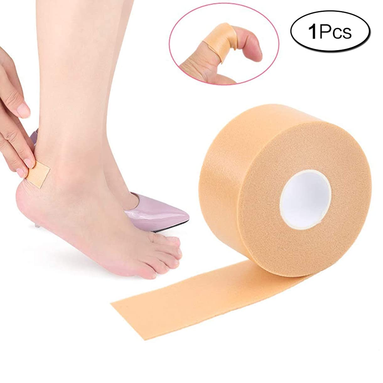 作者そして登場1個入 フォーム綿素材 靴ずれ予防テープ男女兼用