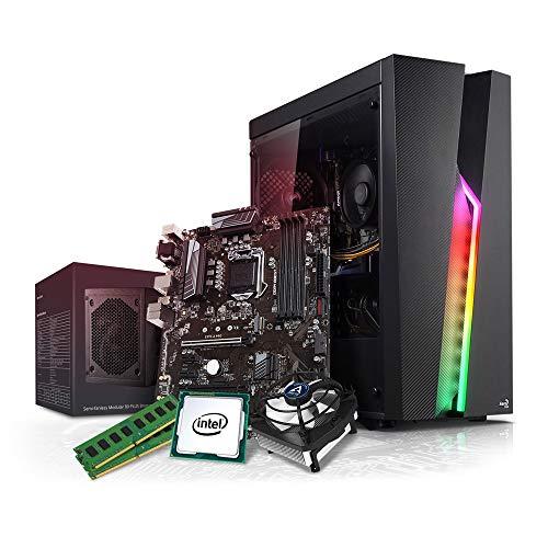 Kiebel Aufrüst Gamer PC (v10) - Intel Core i7 10700K (8x3.8GHz), 16GB DDR4 2666, Aufrüst Gaming System, komplett vormontiert und getestet [182233]