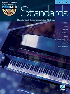 Standards: Beginning Piano Solo Play-Along Volume 9