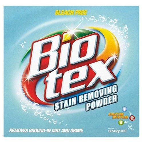 Bio-Tex Stain Remover Powder 520g, smacchiatore in polvere, confezione da 18 (confezione in inglese)