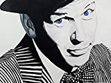 Buyartforless Frank Sinatra Blue Eyes by Ed Capeau 16x12 Art Print Poster Wall Decor Pop Art Rat Pack Singer Movie Star Pop Icon American Crooner Filmmaker Conductor Bobby Soxers