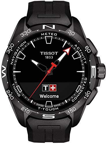 Tissot T-Touch Connect T121.420.47.051.03 - Cinturino in caucciù, colore: Nero
