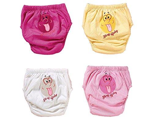 origin-AL Home & Style Zunge Raus 4er Pack Wasserdicht Baby Lernwindel Trainerhosen Unterwäsche Windeln Windelhose zum Toilettentraining Töpfchentraining (Set, 80)