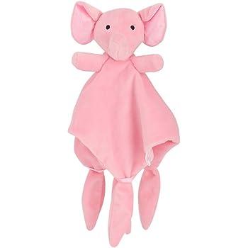 YeahiBaby Doudou Manta de Seguridad para Beb/és Mantitas de Arrullo Peluche Animal Felpa Elefante