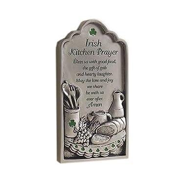 Abbey Gift Irish Kitchen Prayer Plaque
