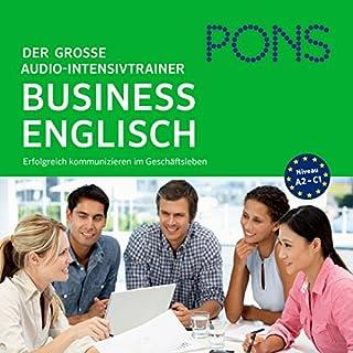 PONS Der große Audio-Intensivtrainer - Business Englisch Titelbild
