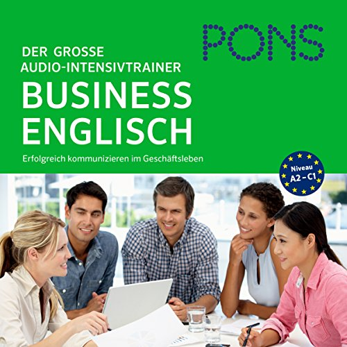 PONS Der große Audio-Intensivtrainer - Business Englisch audiobook cover art