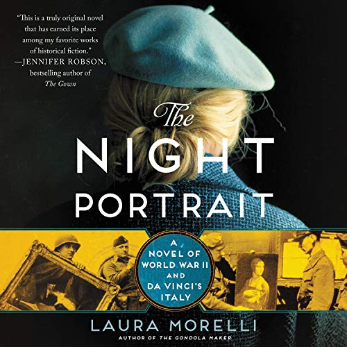 The Night Portrait audiobook cover art