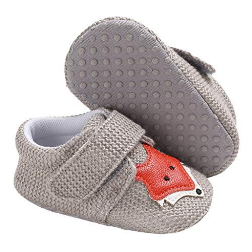 ZEZKT Chaussures Premiers Pas Chaussures B/éb/é en Tricot Chaussons B/éb/é Chaussures Antid/érapant pour B/éb/é Fille Gar/çon Unisexe Chaussures de Maison