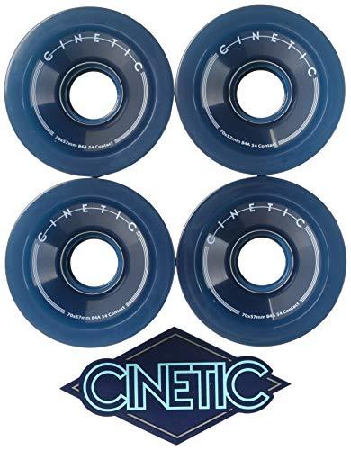 CINETIC Crop 70mmx57mm 84a Wheels Pack Skateboard-Rollen, Unisex, Blau (Mehrfarbig)