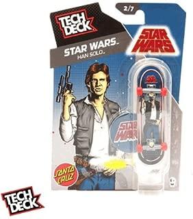 TECH DECK 96mm SANTA CRUZ STAR WARS HAN SOLO Star Wars Han Solo [20049546]