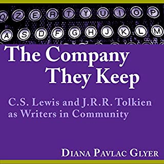The Company They Keep     C. S. Lewis and J. R. R. Tolkien as Writers in Community              By:                                                                                                                                 Diana Pavlac Glyer                               Narrated by:                                                                                                                                 Bev Kassis                      Length: 10 hrs and 1 min     11 ratings     Overall 4.4