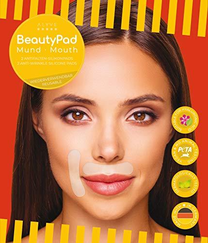 BeautyPad Mund Antifalten-Pads (2 Stk.), glätten Oberlippen- und Nasolabialfalten, schnelle Wirkung, ca. 30x verwendbar. Deutsches Premium-Produkt!