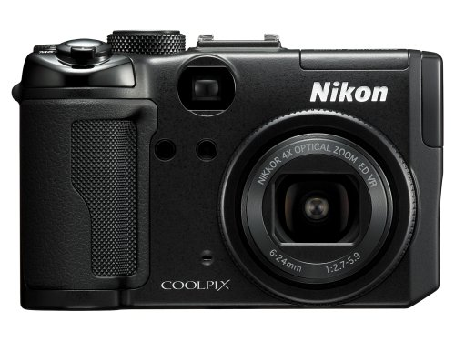 Nikon Coolpix P6000 13.5MP Digital Camera with 4x Wide Angle Optical Vibration Reduction (VR) Zoom (Discontinued by Manufacturer)