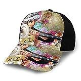 ONE Piece Trafalgar D. Water Law Golf Sun Hat for Men's & Womens, 3D Pattern UV Protection Water Resistant Summer Baseball Cap for Gardening Fishing,Beach & Work