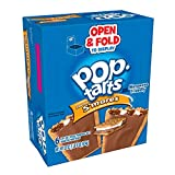 Pop-Tarts BreakfastToaster Pastries, Frosted S'mores Flavored, Bulk Size, 144 Count (Pack of 12, 22 oz Boxes)
