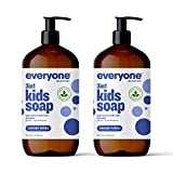 Everyone 3-in-1 Kids Soap: Body Wash, Bubble Bath, and Shampoo, Lavender Lullaby, 32 Ounce, 2 Count- Packaging May...