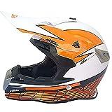 plhzh casco Motocicleta Hombres,enviar 3 Piezas Regalo (Por Ejemplo: Gafas De Protección, Guantes, Máscara) Casco Fuera De Carretera Casco Bicicleta Colgando Cross Casco Motocross Casco