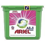 Ariel Todo en Uno Pods, Rosa Fresca Detergente en Cápsulas 23 Lavados, con Lavado a 20 °C y Perfume Duradero
